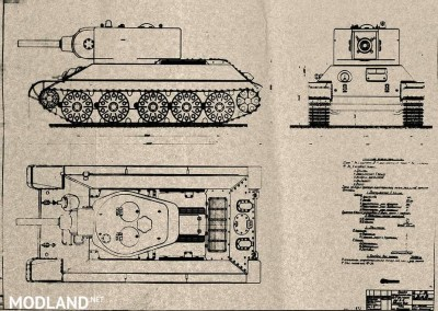 "T-34 Remodel ""T-34/122"" 1.0.1.1++ [1.0.1.1], 4 photo"